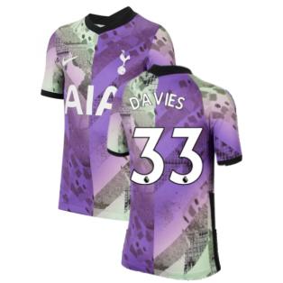 Tottenham 2021-2022 3rd Shirt (Kids) (DAVIES 33)