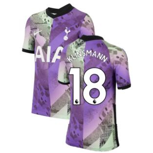 Tottenham 2021-2022 3rd Shirt (Kids) (KLINSMANN 18)