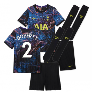Tottenham 2021-2022 Away Baby Kit (DOHERTY 2)
