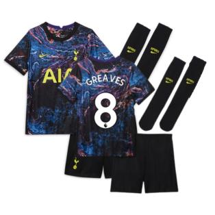 Tottenham 2021-2022 Away Baby Kit (GREAVES 8)