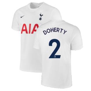 Tottenham 2021-2022 Home Shirt (DOHERTY 2)