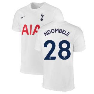 Tottenham 2021-2022 Home Shirt (NDOMBELE 28)