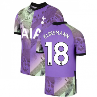 Tottenham 2021-2022 Vapor 3rd Shirt (KLINSMANN 18)