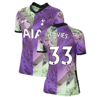 Tottenham 2021-2022 Womens 3rd Shirt (DAVIES 33)