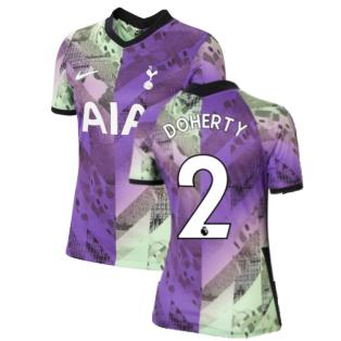Tottenham 2021-2022 Womens 3rd Shirt (DOHERTY 2)