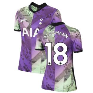 Tottenham 2021-2022 Womens 3rd Shirt (KLINSMANN 18)