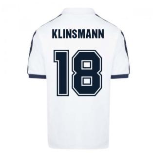 Tottenham Hotspur 1978 Admiral Retro Shirt (KLINSMANN 18)