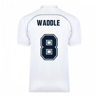 Tottenham Hotspur 1986 Retro Football Shirt (Waddle 8)