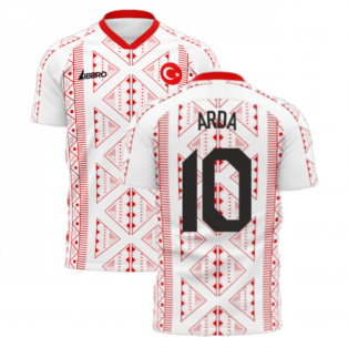Turkey 2020-2021 Away Concept Football Kit (Libero) (ARDA 10)