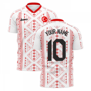 Turkey 2020-2021 Away Concept Football Kit (Libero)