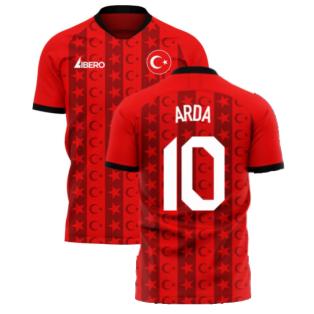 Turkey 2020-2021 Home Concept Football Kit (Libero) (ARDA 10)