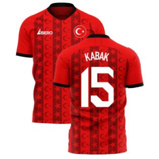 Turkey 2020-2021 Home Concept Football Kit (Libero) (KABAK 15)