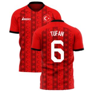 Turkey 2020-2021 Home Concept Football Kit (Libero) (TUFAN 6)