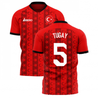 Turkey 2020-2021 Home Concept Football Kit (Libero) (TUGAY 5)