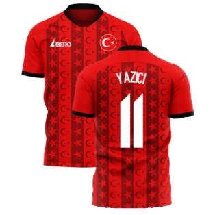 Turkey 2020-2021 Home Concept Football Kit (Libero) (YAZICI 11)
