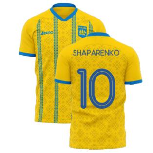 Ukraine 2020-2021 Home Concept Football Kit (Libero) (SHAPARENKO 10)