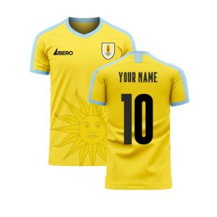 Uruguay 2020-2021 Away Concept Football Kit (Libero) (Your Name)