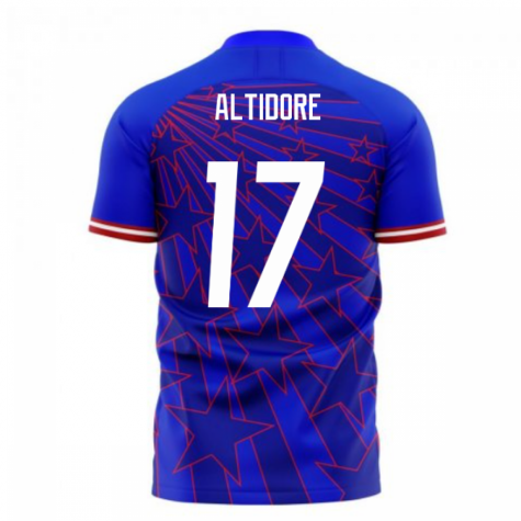 USA 2020-2021 Away Concept Football Kit (Libero) (ALTIDORE 17)