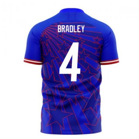USA 2020-2021 Away Concept Football Kit (Libero) (BRADLEY 4)
