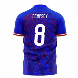 USA 2020-2021 Away Concept Football Kit (Libero) (DEMPSEY 8)