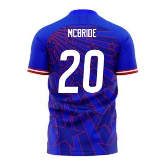 USA 2020-2021 Away Concept Football Kit (Libero) (MCBRIDE 20)