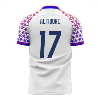 USA 2020-2021 Home Concept Football Kit (Libero) (ALTIDORE 17)