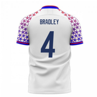 USA 2020-2021 Home Concept Football Kit (Libero) (BRADLEY 4)