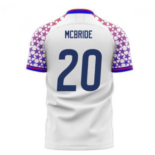 USA 2020-2021 Home Concept Football Kit (Libero) (MCBRIDE 20)