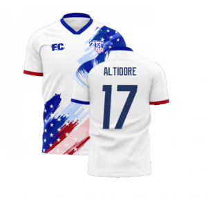 USA 2020-2021 Home Concept Kit (Fans Culture) (ALTIDORE 17)