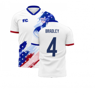 USA 2020-2021 Home Concept Kit (Fans Culture) (BRADLEY 4)