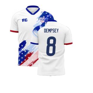 USA 2020-2021 Home Concept Kit (Fans Culture) (DEMPSEY 8)