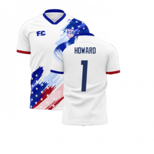 USA 2020-2021 Home Concept Kit (Fans Culture) (HOWARD 1)