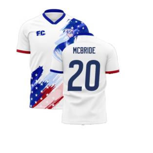 USA 2020-2021 Home Concept Kit (Fans Culture) (MCBRIDE 20)