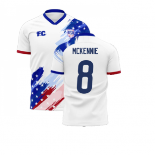 USA 2020-2021 Home Concept Kit (Fans Culture) (MCKENNIE 8)