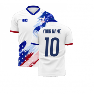 USA 2020-2021 Home Concept Kit (Fans Culture) (Your Name)