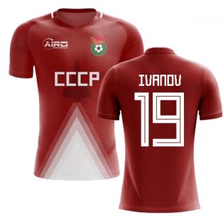 USSR Home Concept Football Shirt (Ivanov 19)