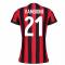 2017-2018 AC Milan Womens Home Shirt (Vangioni 21)