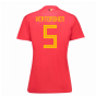 2018-19 Belgium Home Womens Shirt (Vertonghen 5)
