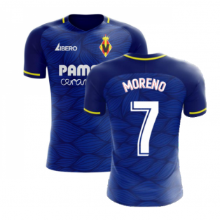 Villarreal 2020-2021 Away Concept Football Kit (Libero) (MORENO 7)