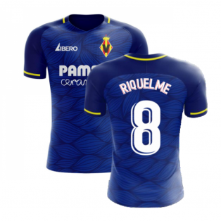 Villarreal 2020-2021 Away Concept Football Kit (Libero) (RIQUELME 8)