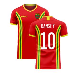 Wales 2020-2021 Home Concept Football Kit (Libero) (RAMSEY 10)