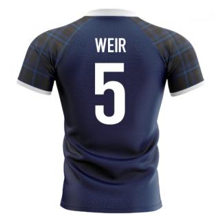 2020-2021 Scotland Home Concept Rugby Shirt (Weir 5)