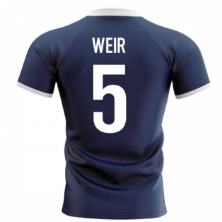 2020-2021 Scotland Flag Concept Rugby Shirt (Weir 5)