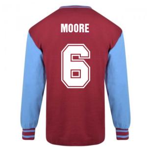West Ham United 1964 FA Cup Final Retro Shirt (MOORE 6)