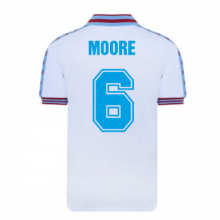 West Ham United 1980 FA Cup Final Admiral Shirt (MOORE 6)