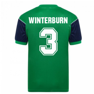 Score Draw Arsenal 1982 Away Shirt (WINTERBURN 3)
