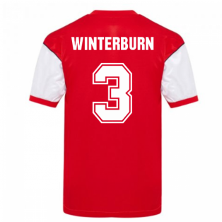 Score Draw Arsenal 1982 Home Shirt (WINTERBURN 3)