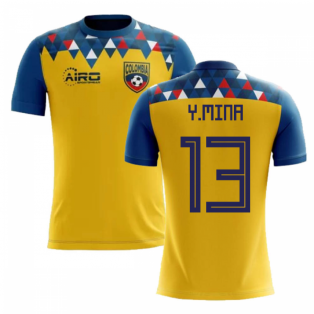 2018-2019 Colombia Concept Football Shirt (Y.Mina 13)