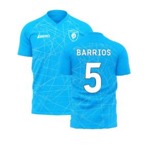 Zenit 2020-2021 Home Concept Football Kit (Libero) (BARRIOS 5)