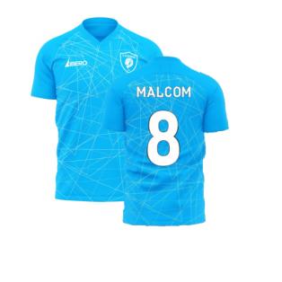 Zenit 2020-2021 Home Concept Football Kit (Libero) (MALCOM 8)